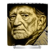 Willie Nelson Collection Shower Curtain