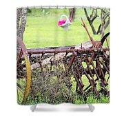 Yard Art Shower Curtain