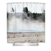 Yellowstone National Park Shower Curtain