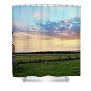 72nd Pennsylvania At The Angle Shower Curtain