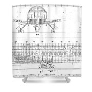 747 Shower Curtain