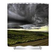 Storm Clouds Saskatchewan Shower Curtain