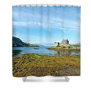 77. Eilean Donan Castle, Scotland Shower Curtain