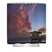 7826- Miami Beach Sunrise Shower Curtain