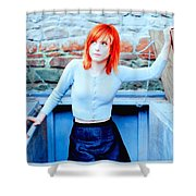 79361 Hayley Williams Paramore Women Singer Redhead Shower Curtain