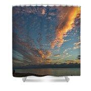 7972- Miami Beach Sunrise Shower Curtain