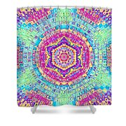 7th Dimension Activation 7 Shower Curtain