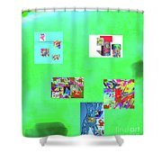 8-10-2015abcdefghijkl Shower Curtain