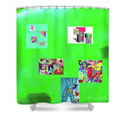 8-10-2015abcdefghijklm Shower Curtain