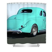 1936 Ford Coupe Shower Curtain