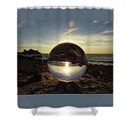 8-25-16--5717 Don't Drop The Crystal Ball, Crystal Ball Photography Shower Curtain