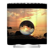 8-26-16--5927 Don't Drop The Crystal Ball, Crystal Ball Photography Shower Curtain