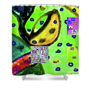 8-3-2015cabcdefghijklmnopqrtuvwxy Shower Curtain