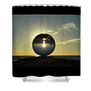 8-30-16--6270 Don't Drop The Crystal Ball, Crystal Ball Photography Shower Curtain