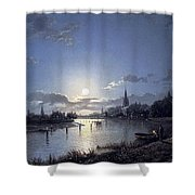 31040 Henry Pether Shower Curtain