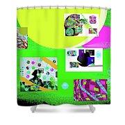 8-7-2015babcdefghijklmno Shower Curtain
