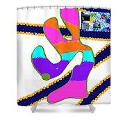 8-8-2057o Shower Curtain