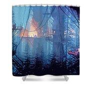 A Star Wars Art Shower Curtain