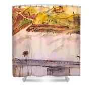 A Trip To Lewiston  In Autumn Album Shower Curtain