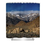 Alabama Hills, Ca Shower Curtain