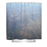 An Aerial View Of Ohio Shower Curtain