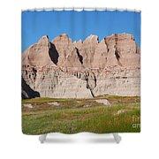 Badlands National Park South Dakota Shower Curtain