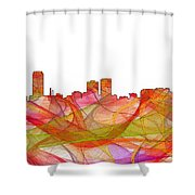 Baton Rouge Louisiana Shower Curtain