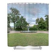 Bee Tree Park Shower Curtain