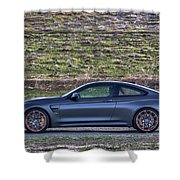 #bmw #m4 #gts #print Shower Curtain by ItzKirb Photography