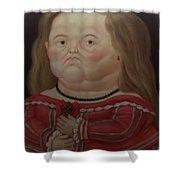 Bogota Museo Botero Shower Curtain