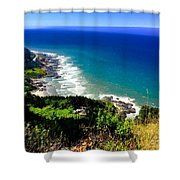 Cape Perpetua Shower Curtain