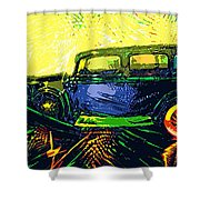 Cards Shower Curtain