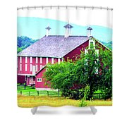 Codori Barn Shower Curtain