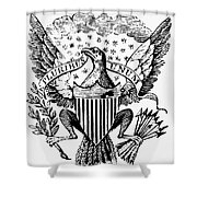 Eagle, 19th Century Shower Curtain