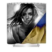 Eva Longoria Collection Shower Curtain
