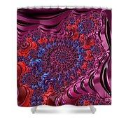 Fractal, Pattern, Kaleidoscope, Art Shower Curtain
