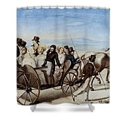 Franz Schubert (1797-1828) Shower Curtain