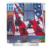 Freak Alley Boise Shower Curtain