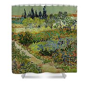 Garden At Arles Shower Curtain