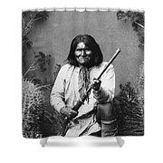 Geronimo (1829-1909) Shower Curtain