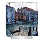 Gondola, Canals Of Venice, Italy Shower Curtain