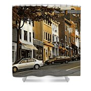 Greenwich Avenue Shower Curtain