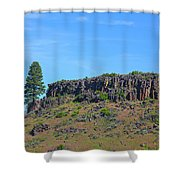 Idaho Landscape Shower Curtain