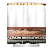 Inside The Oven Shower Curtain