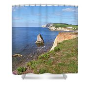 Isle Of Wight - England Shower Curtain
