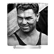 Jack Dempsey (1895-1983) Shower Curtain