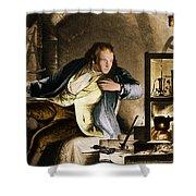 James Watt, Scottish Inventor Shower Curtain