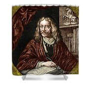 Johannes Hevelius, Polish Astronomer Shower Curtain