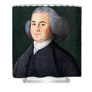 John Adams (1735-1826) Shower Curtain