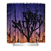 Joshua Tree With Special Effects Shower Curtain